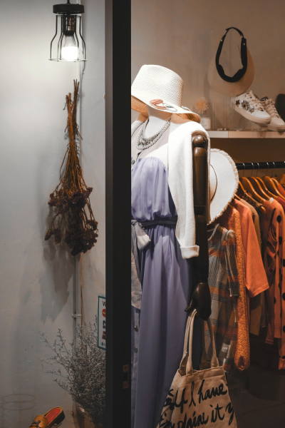 Clothes in a shop. Are your clothes in line with ethical fashion standards?